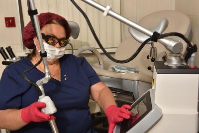 Лечение лейкоплакии у женщин лазером